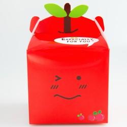 Gift box - Red, 10 x 10 x 9.5 cm