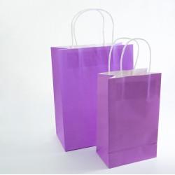 Paper Gift Bag - Lilac, 10 pcs