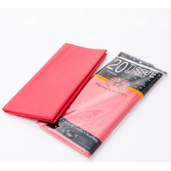 Tissue Gift Wrap - Red, 20pcs