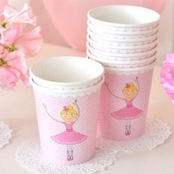 Ballerina 9oz Paper Cup, 12pcs