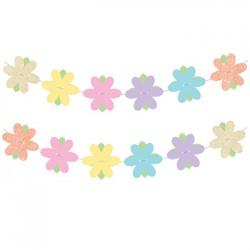 Garland - Glitter Flower Reversible